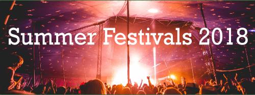 Summer Festivals Cover